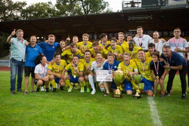Drei Vorarlbergliga-Duelle im 42. VFV Cup