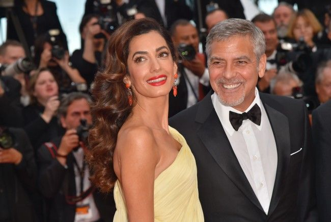 George und Amal Clooney wurdne im Juni Eltern von Zwillingen.