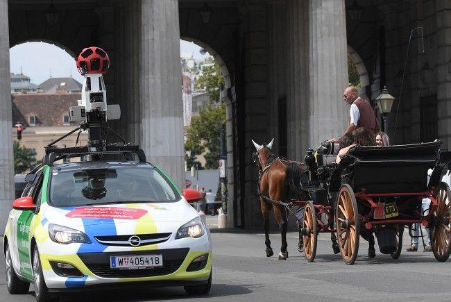 Am Donnerstag starten die Aufnahmen für Google Street View in Wien.