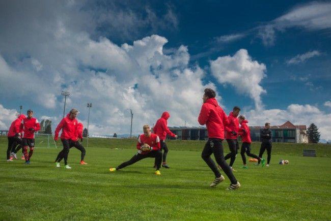 Austria bereit sich auf die Saison vor