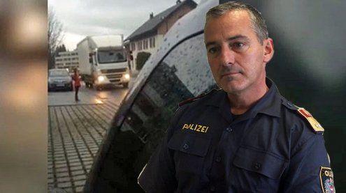 Lebensgefährliche Situation bei Straße: Das sagt die Polizei