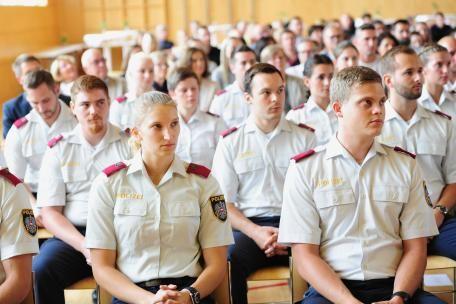 23 neue Beamte für die Vorarlberger Polizei