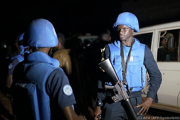 UNO-Soldaten sollen Region stabilisieren