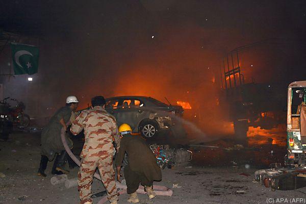 Ursache der Explosion wird noch untersucht