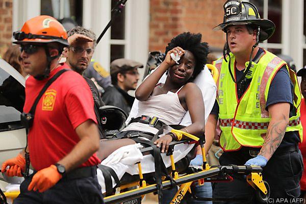 Trump verurteilt rassistische Gewalt von Charlottesville