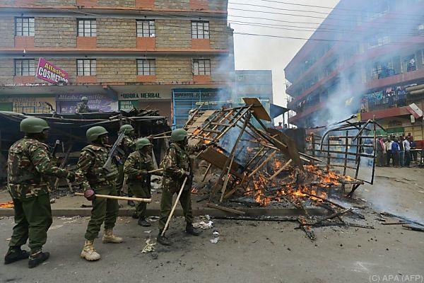 Tote bei Protesten in Kenia