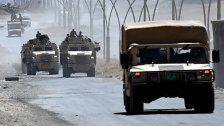 Offensiven gegen die IS-Miliz im Irak und Libanon