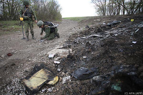 Zwei Verletzte bei Explosion im Zentrum von Kiew