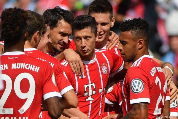 Die Bayern siegten in Chemnitz mit 5:0