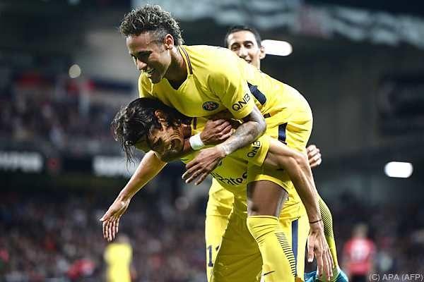 Guter Einstand für Neymar