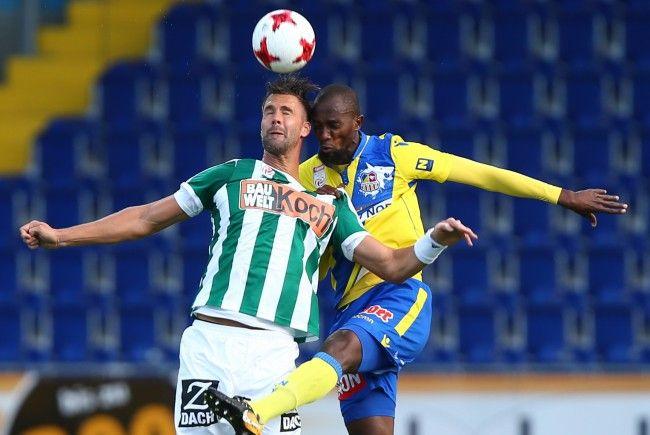 SKN St. Pölten konnte in der heurigen Saison erstmals anschreiben.