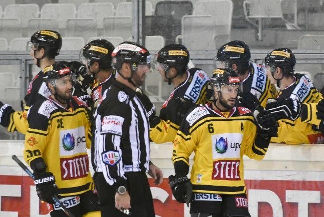 Die Vienna Capitals verloren gegenJYP Jyväskylä.