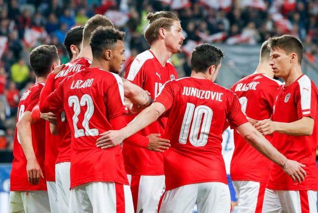 Das ÖFB-Team liegt in der FIFA-Weltrangliste weiter auf Platz 37.