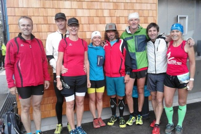 Die Blt Läufer waren vom Sonnenkopf Berglauf sichtlich begeistert!