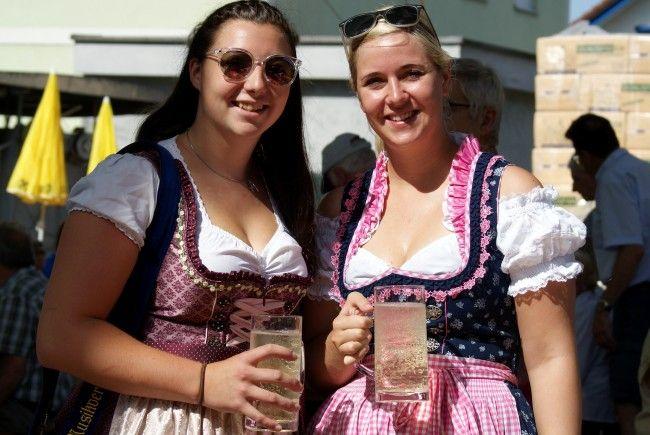 """Kaiserwetter für """"Krammel`s Mostfest"""" am Feiertag."""