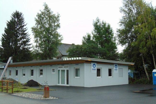 Das Altacher Ärztehaus vor der Fertigstellung