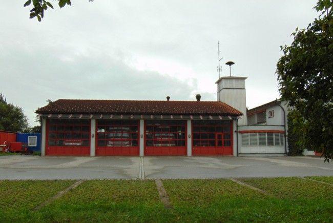 Das Feuerwehrhaus in Mäder wird noch im Herbst erweitert