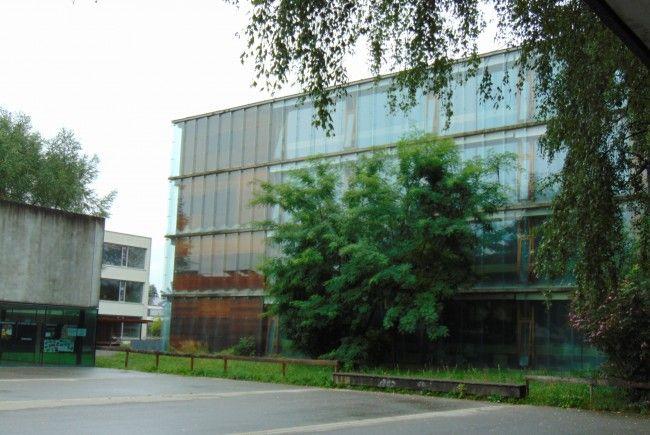 Auch im Schulzentrum Mäder ist Biomasse Trumpf