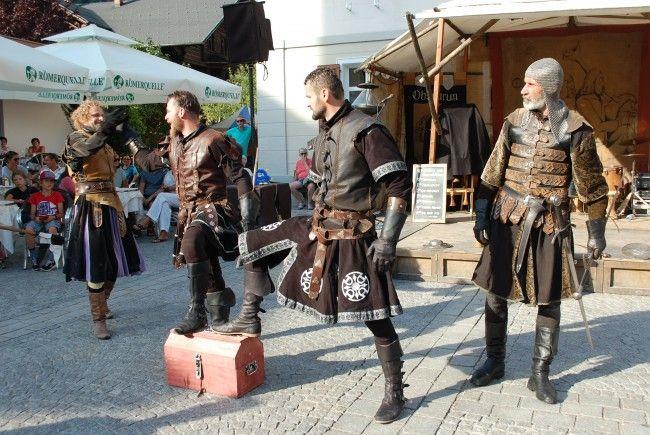Das vergangene Wochenende in Schruns stand ganz im Zeichen des Mittelalters.