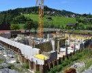 Neubau der Mittelschule Egg wächst