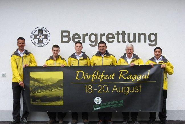 """Das Raggaler """"Dörflifest"""" wird von der Bergrettung am kommenden Wochenende organisiert."""