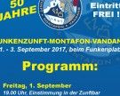Vorankündigung 50 Jahre Funkenzunft Montafon – Vandans