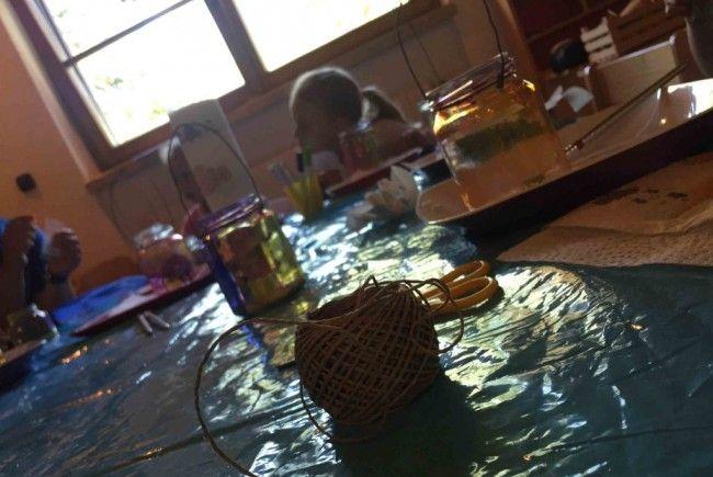 Bei einem gemeinsamen Frühstück lernten sich Väter und Kinder aus dem Raum Alberschwende kennen.