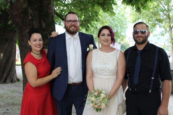 Hochzeit von Nadine und Manuel.