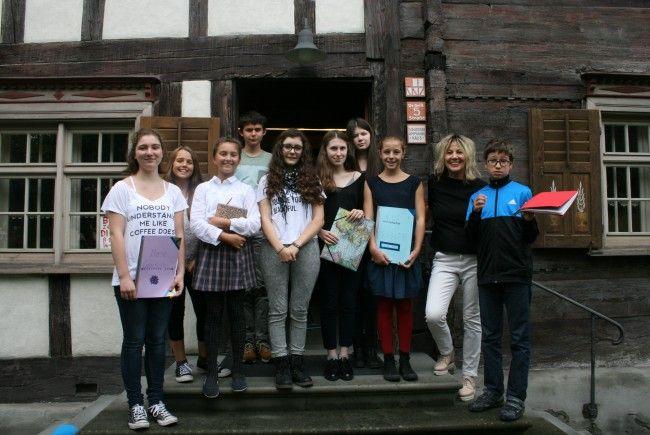 Zehnjähriges Jubiläum für die Kinderschreibwerkstatt im Schlosserhus.