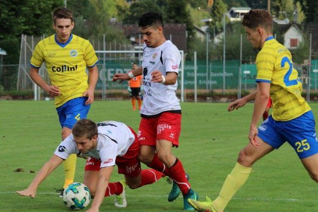 Hohenems gewann das Stadtderby gegen Dornbirn
