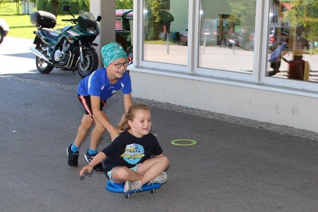 Das Abenteuer Sportcamp begeisterte