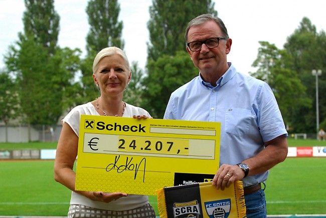 24.207 Euro für die Vorarlberger Lebenshilfe