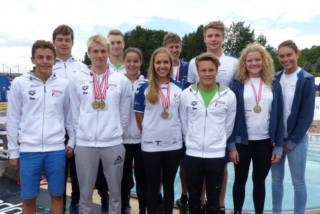 Die Ländle-Schwimmer konnten bei der diesjährigen Staats- und Juniorenmeisterschaft in Enns überzeugen.