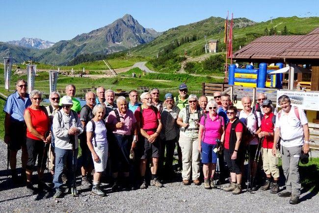 Der Seniorenbund lädt alle Wanderfreunde aber auch Nichtwanderer herzlich zum Sonnenkopf ein