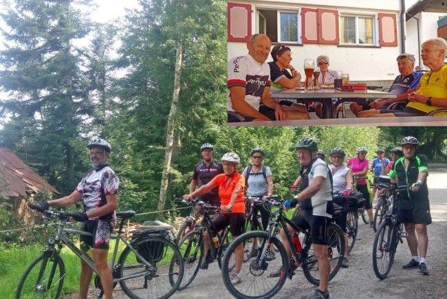 Radteam per pedales: Anspruchsvolle Tour vom Vorderwald ins Allgäu