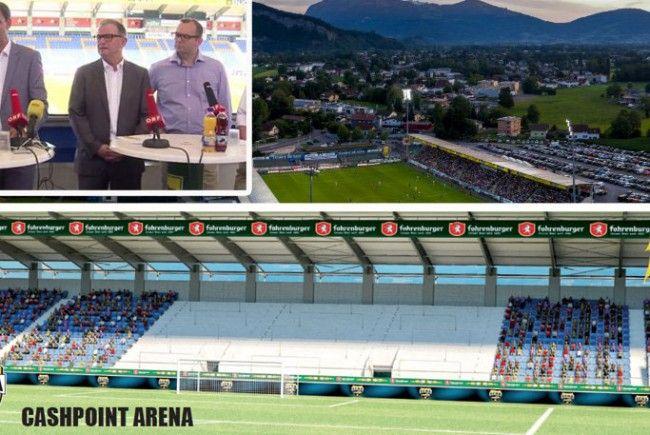 Land Vorarlberg & SCRA beschließen Neubau der Fantribüne.