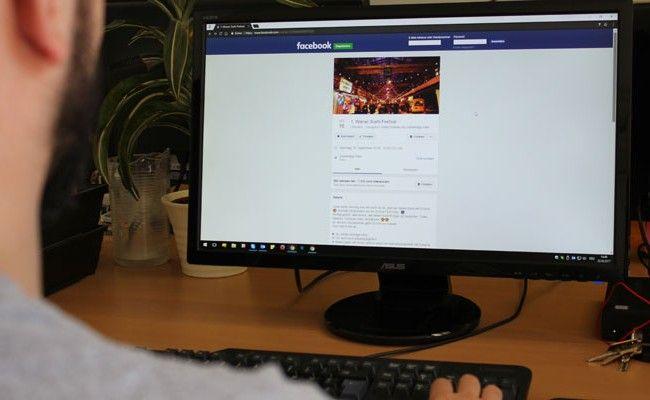 Fake-Events machen auf Facebook die Runde