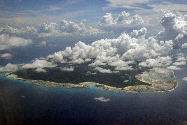 """Die Insel """"North-Sentinel"""" darf von keinem Menschen betreten werden."""