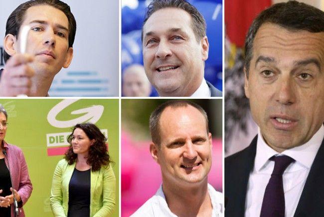 Zehn Kandidaten bundesweit, sechs davon mit (sehr) guten Chancen auf Mandate