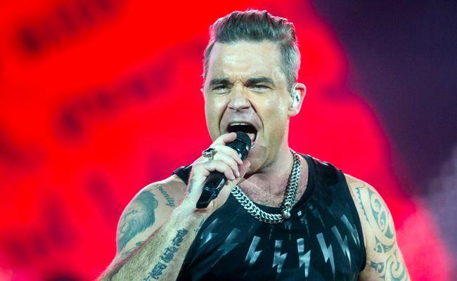 Robbie Williams gastierte in Wien
