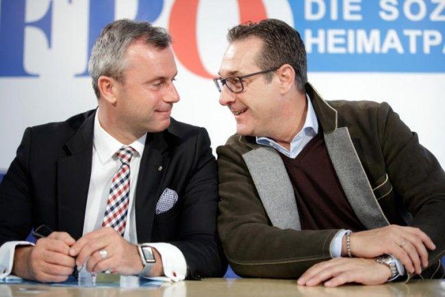 Hofer und Strache präsentieren das FPÖ-Wirtschaftsprogramm