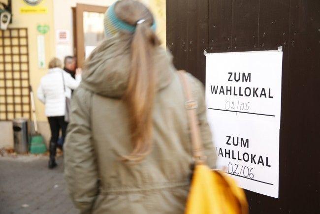 Wählerverzeichnisse in Vorarlberger Gemeinden können nun eingesehen werden.