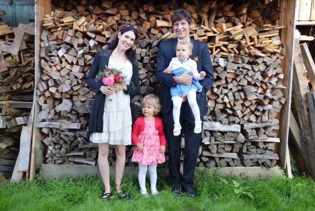 Julia Bösch und Philipp Grabher haben geheiratet.