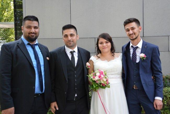 Setenay Yildiz und Cetin Korkmaz haben geheiratet.