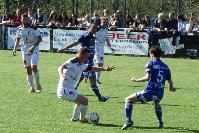 Egg-Kapitän Elias Meusburger & Co. möchten gegen Andelsbuch den zweiten Saisonsieg einfahren.