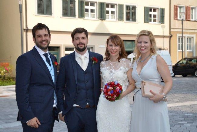 Evelin Büchel und Alfonso Fernándes haben geheiratet.