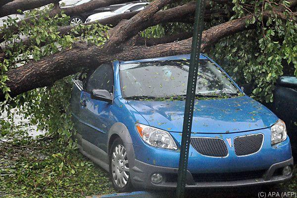 """""""Irma"""" zog Spur der Verwüstung"""