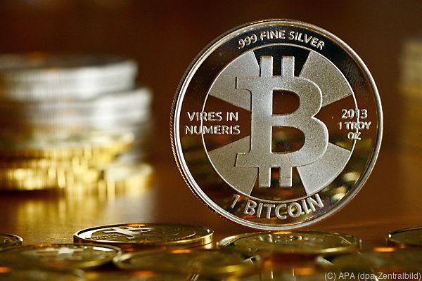 Starke Schwankungen beim Bitcoin sind üblich