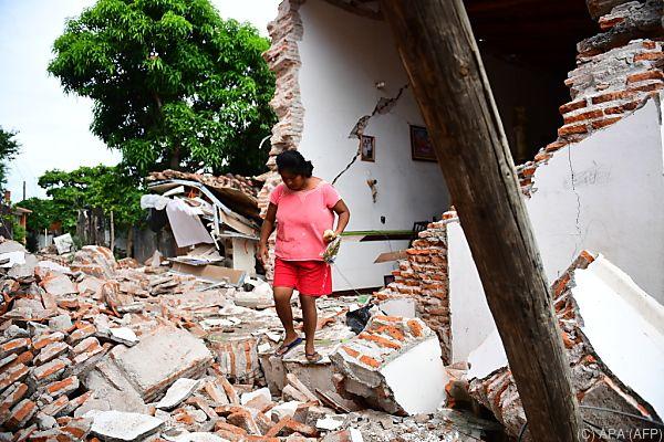 Tausende Häuser wurden zerstört