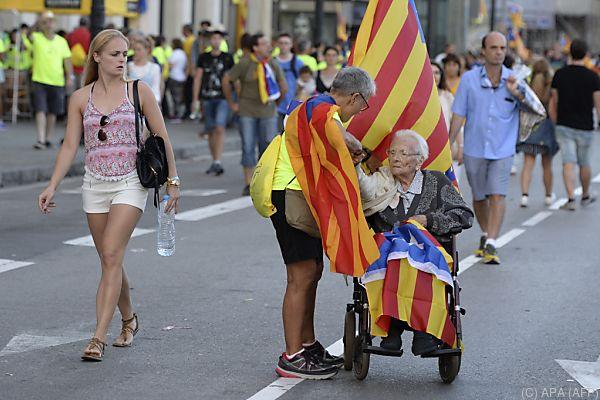 Spanien erkennt Kataloniens Unabhängigkeitsbemühungen nicht an